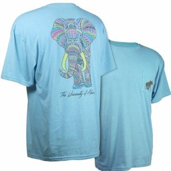 Tribal Elephant Al Blue