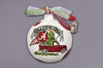 Alabama Truck Ornament
