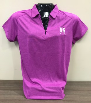 PORT AUTHORITY PERFORMANCE POLO SMALL PINK