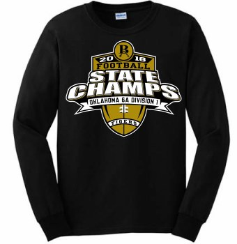 YOUTH STATE CHAMPION LONGSLEEVE SMALL BLACK