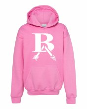 PINK OUT HOODIE SMALL PINK