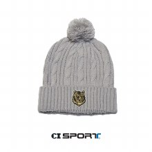 CABLE KNIT BEANIE OSFM GREY