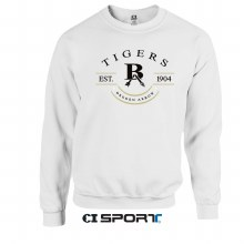 BA TIGERS RAD CREW XL WHITE