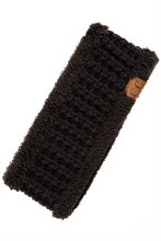 CC SHERPA HEADBAND BLACK