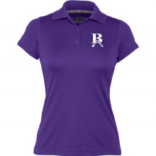 WOMENS DOUBLE DRY POLO SMALL PURPLE