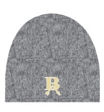 BLACK HEATHER CUFFLESS BEANIE