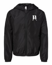 YOUTH LIGHTWEIGHT FULLZIP JACKET YOUTH XS BLACK