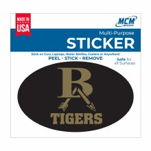 OVAL BA TIGER DECAL