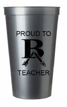 PROUD TO BA TEACHER 22OZ CUP
