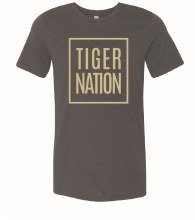 YOUTH TIGER NATION TEE SMALL BLACK