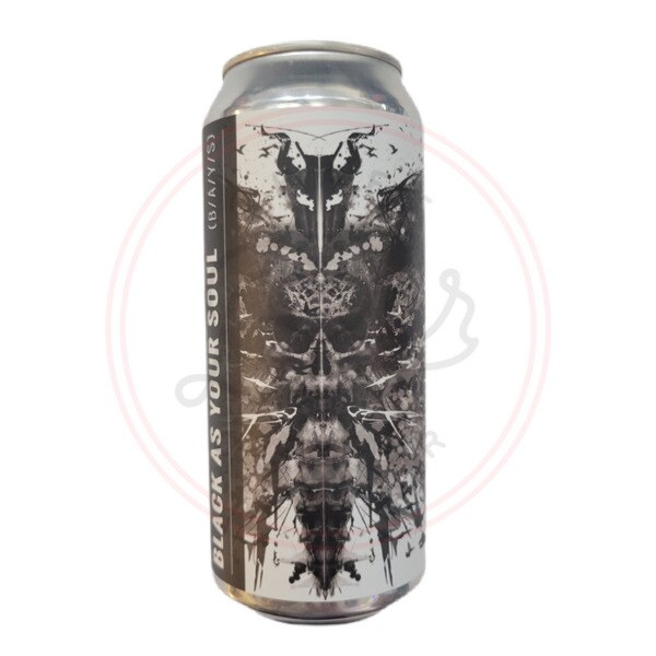 Black As Your Soul - 16oz Can