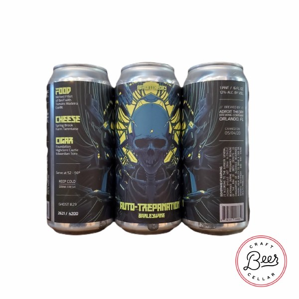 Auto-trepanation - 16oz Can