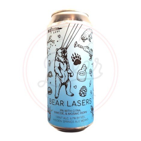 Bear Lasers - 16oz Can