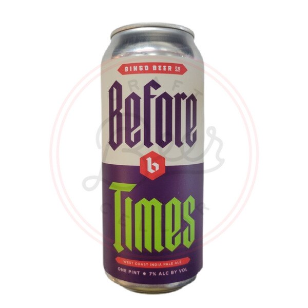Before Times - 16oz Can