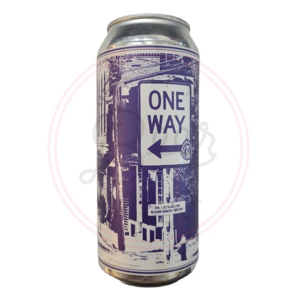 One Way - 16oz Can