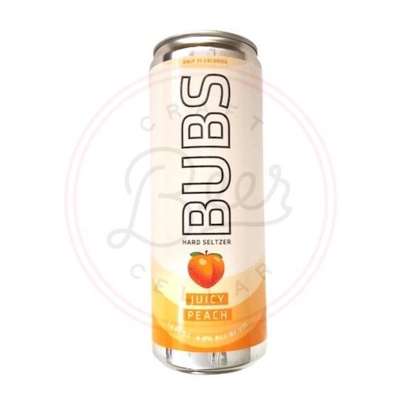 Bubs: Juicy Peach - 12oz Can