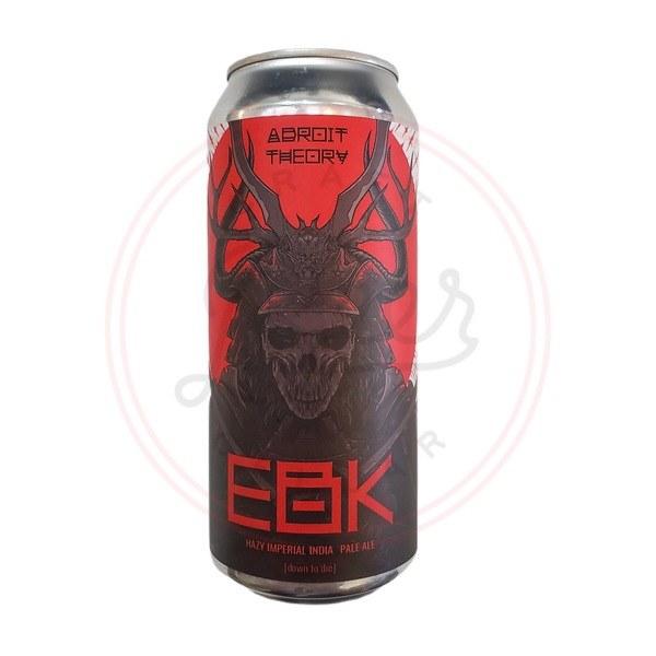 Ebk:down To Die - 16oz Can
