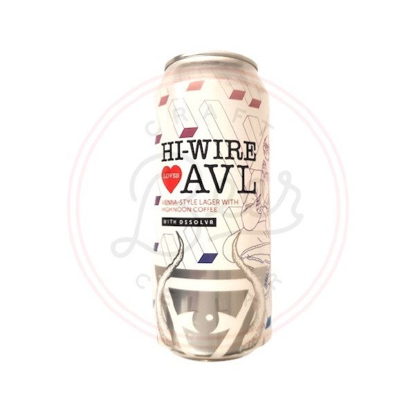 Hi-wire Love Avl -16oz Can