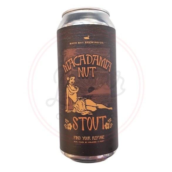 Macadamia Nut Stout - 16oz Can