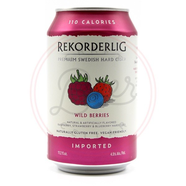 Wild Berries - 12oz Can