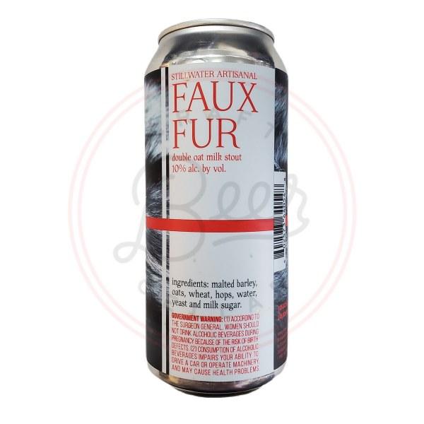 Faux Fur - 16oz Can