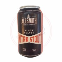 Black Velvet Nitro - 12oz Can