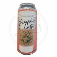 Pumpkin Latte - 16oz Can