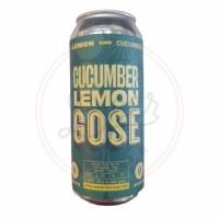 Cucumber Lemon Gose - 16oz Can
