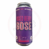 Mixed Berry Gose - 16oz Can