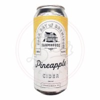 Pineapple Cider - 16oz Can