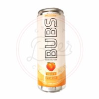 Bubs: Juicy Peach - 12oz Can