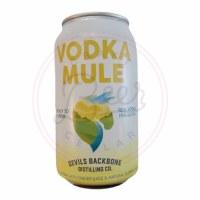 Vodka Mule - 12oz Can