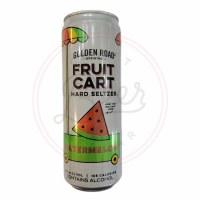Fruit Cart: Watermelon