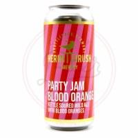Party Jam Blood Orange - 16oz