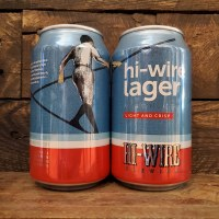 Hi-wire Lager - 12oz Can