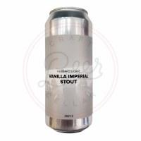 Vanilla Imperial Stout