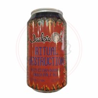 Ritual Destruction - 12oz Can