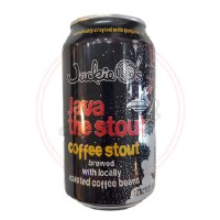 Java The Stout - 12oz Can