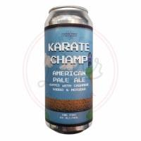 Karate Champ - 16oz Can