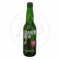 Lebanese Brew Pilsner - 11.2oz