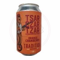 Tsar: Orange Cranberry
