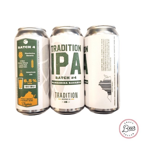 Tradition Ipa - 16oz Can
