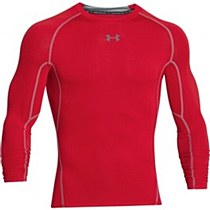 Under Armour Heat Gear Long Sleeve Red