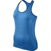 Nike Dri-Fit Contour Tank Women's Blue