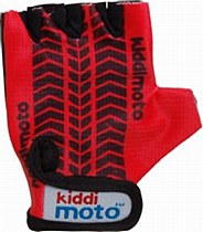 Kiddimoto Red Tyre Print Glove