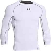Under Armour Heat Gear Long Sleeve White