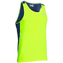 Under Armour Cool Switch Run Singlet Yellow
