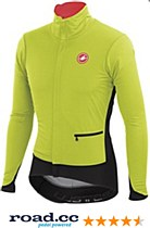Castelli Alpha Jacket Yellow/ Black