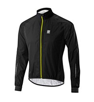 Altura Peloton waterproof Jacket Black/ Yellow