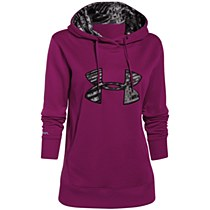 Under Armour Big Logo Applque Aubergine